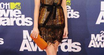 Красивые платья Эммы Стоун (35 фото)