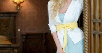 Шикарные платья Полины Максимовой (27 фото)