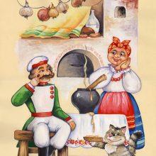 Картинки из сказки «Каша из топора» (24 фото)