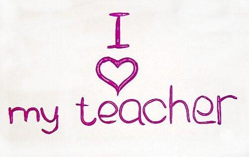 Спасибо люблю, открытка для учительницы по английскому