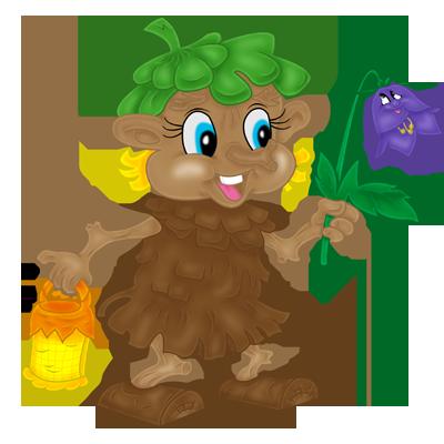 Лесовичок рисунок для детей