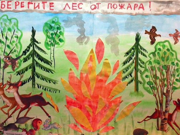 статусы береги лес от пожара плакаты стиле лофт