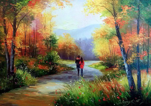 Картинки Красавица Осень 35 фото Прикольные картинки и