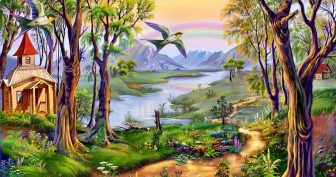 Картинки сказочный мир (35 фото)