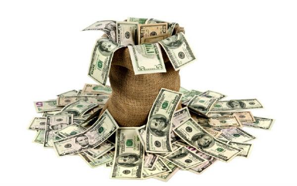 Деньги банкноты доллары макро бумажки картинки фото