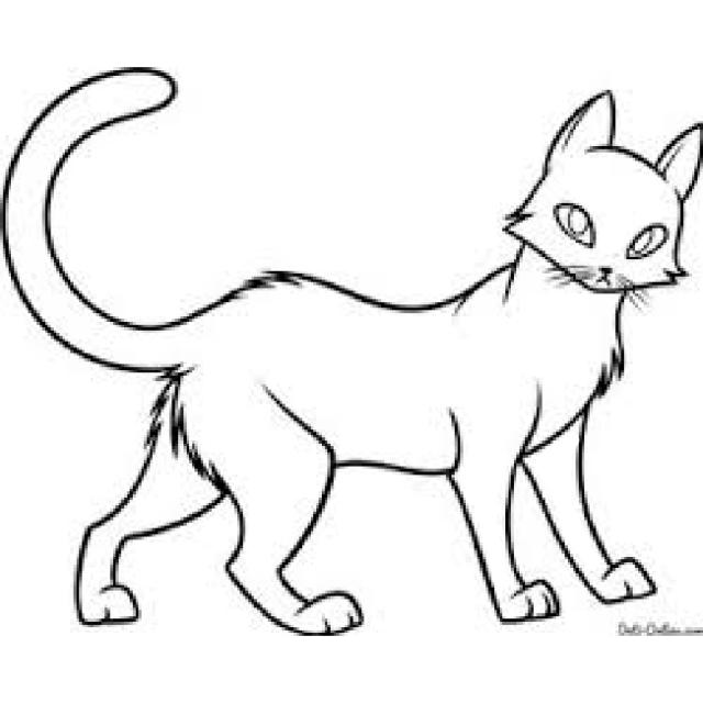 картинки котов воителей для срисовки 30 фото прикольные
