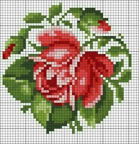 Схемы вышивки крестом миниатюры и маленькие картинки (35 фото ... 999c2dfb037de