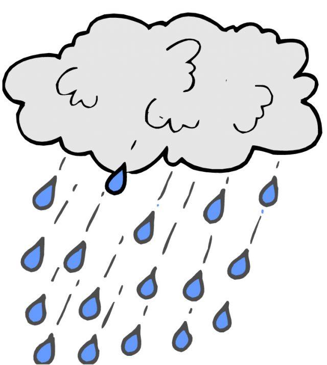 Картинка для детей зонт