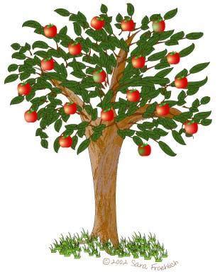 Картинки для детей яблоня (24 фото) 🔥 Прикольные картинки ...