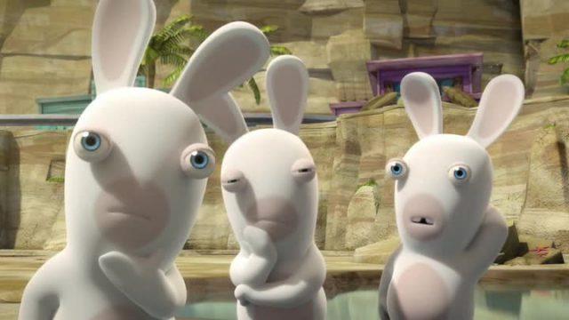 """Картинки из мультфильма """"Бешеные кролики"""" (33 фото ... Забавные Игры Фильм"""