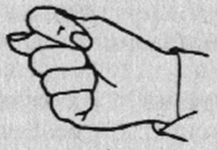 Картинки чопперами, рисунок фига из пальцев смешная