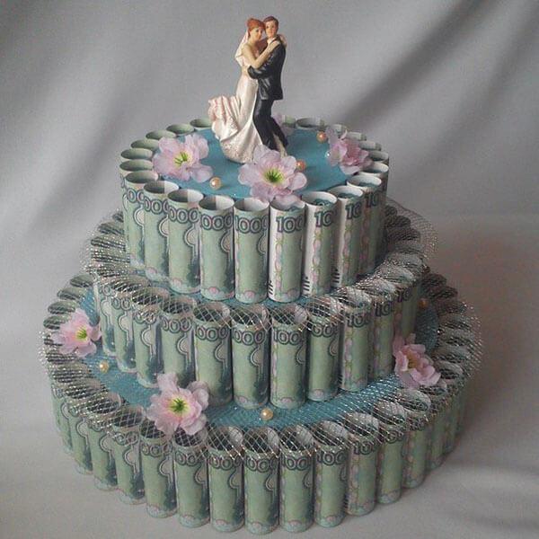 Pean dar na svadbe - Modr konk