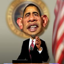 Прикольные фото Обамы (28 фото)
