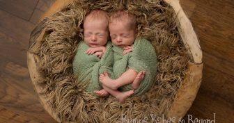 Прикольные фото новорожденных (35 фото)