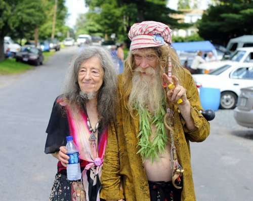 Голые старики и старушки