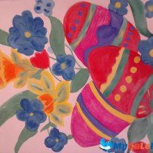 Картинки детские рисунки на Пасху (27 фото)