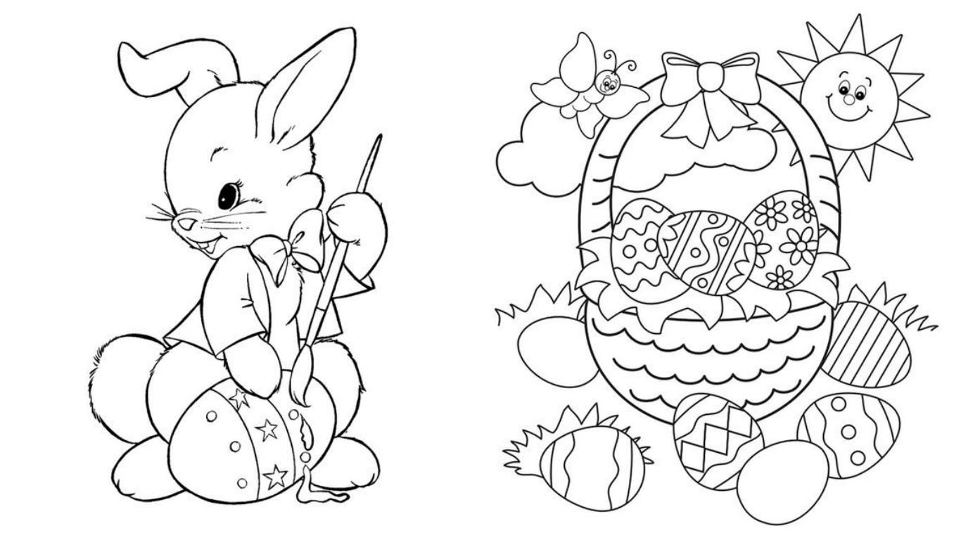 Картинки на пасху рисуем