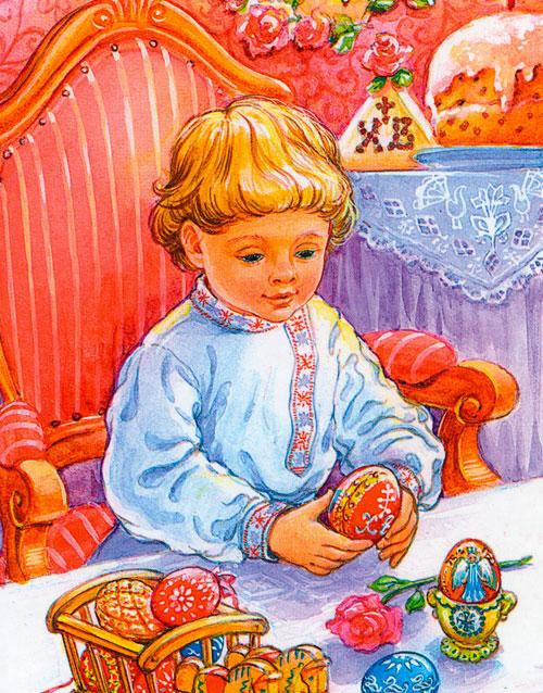 Праздник пасхи картинка для детей