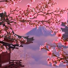 Красивые картинки сакура (37 фото)