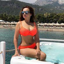 Фото Анфисы Чеховой в купальниках, платьях и домашней одежде (65 фото)