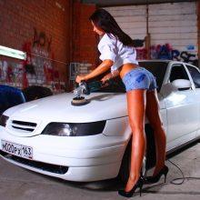 Авто и девушки (36 фото)