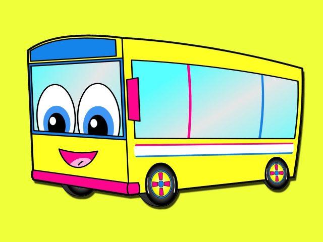 Веселые картинки автобусов