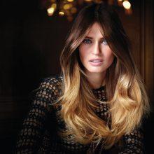 Фото девушки брюнетки с длинными волосами (30 фото)
