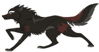 Картинки волки аниме (31 фото)