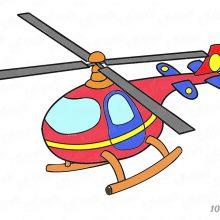 Картинки для детей вертолет (19 фото)