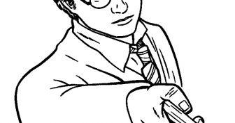 Картинки для срисовки Гарри Поттер (20 фото)