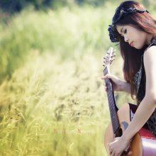 Картинки девушка с гитарой (25 фото)