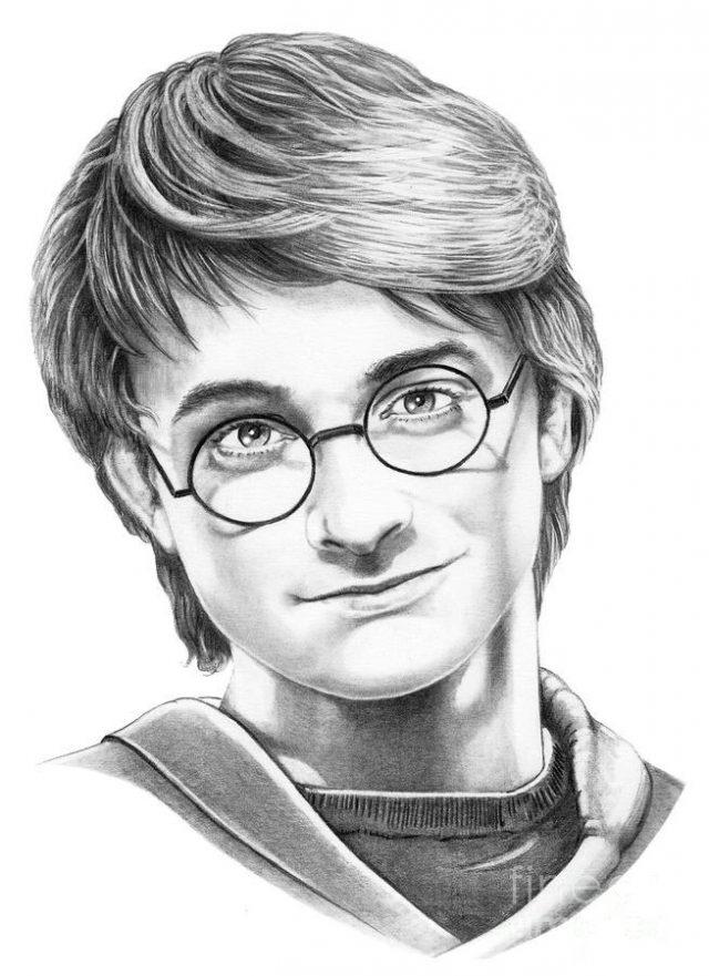 Картинки для срисовки Гарри Поттер (20 фото) 🔥 Прикольные ...