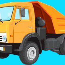 Картинки для детей грузовик (15 фото)