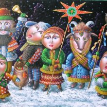 Красивые открытки с Васильевым днем 2019 (12 фото)