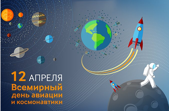 Картинка, день космонавтики и авиации картинки