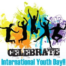 Красивые картинки с Международным днем молодежи 2019 (17 фото)