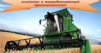 Красивые картинки с Днем работника сельского хозяйства и перерабатывающей промышленности 2019 (15 фото)