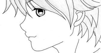 Картинки аниме карандашом для срисовки (35 фото)