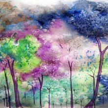 Рисунки красками для срисовки (34 фото)