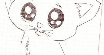 Милые рисунки карандашом для срисовки (34 фото)