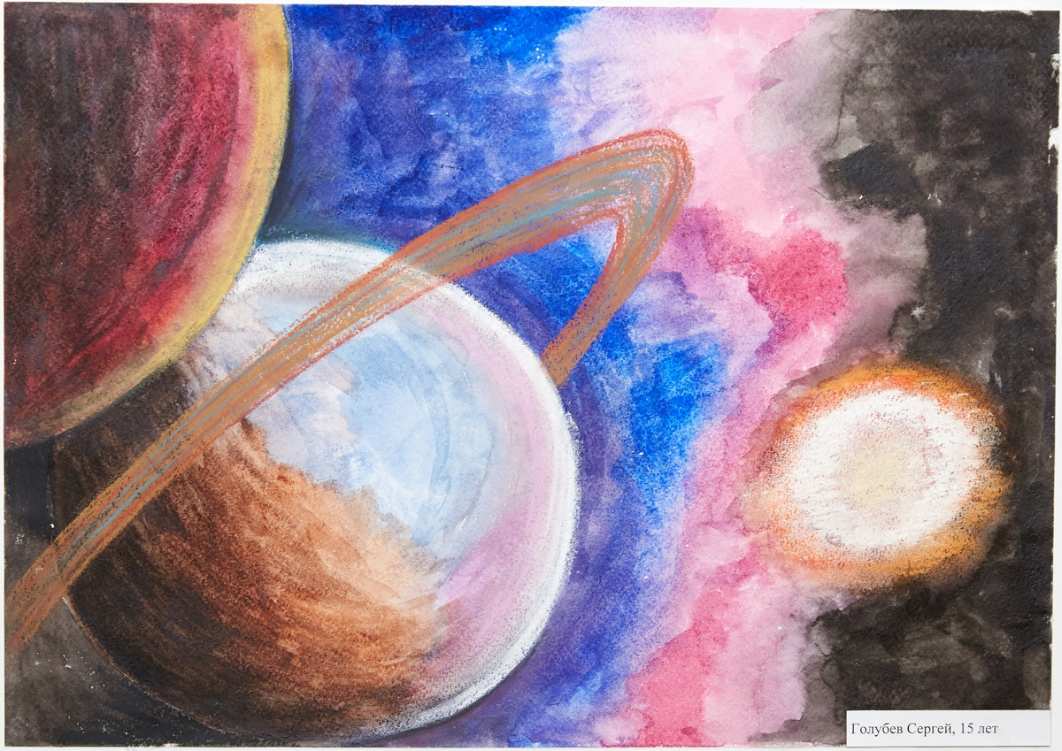 Картинки для срисовки космос будущего