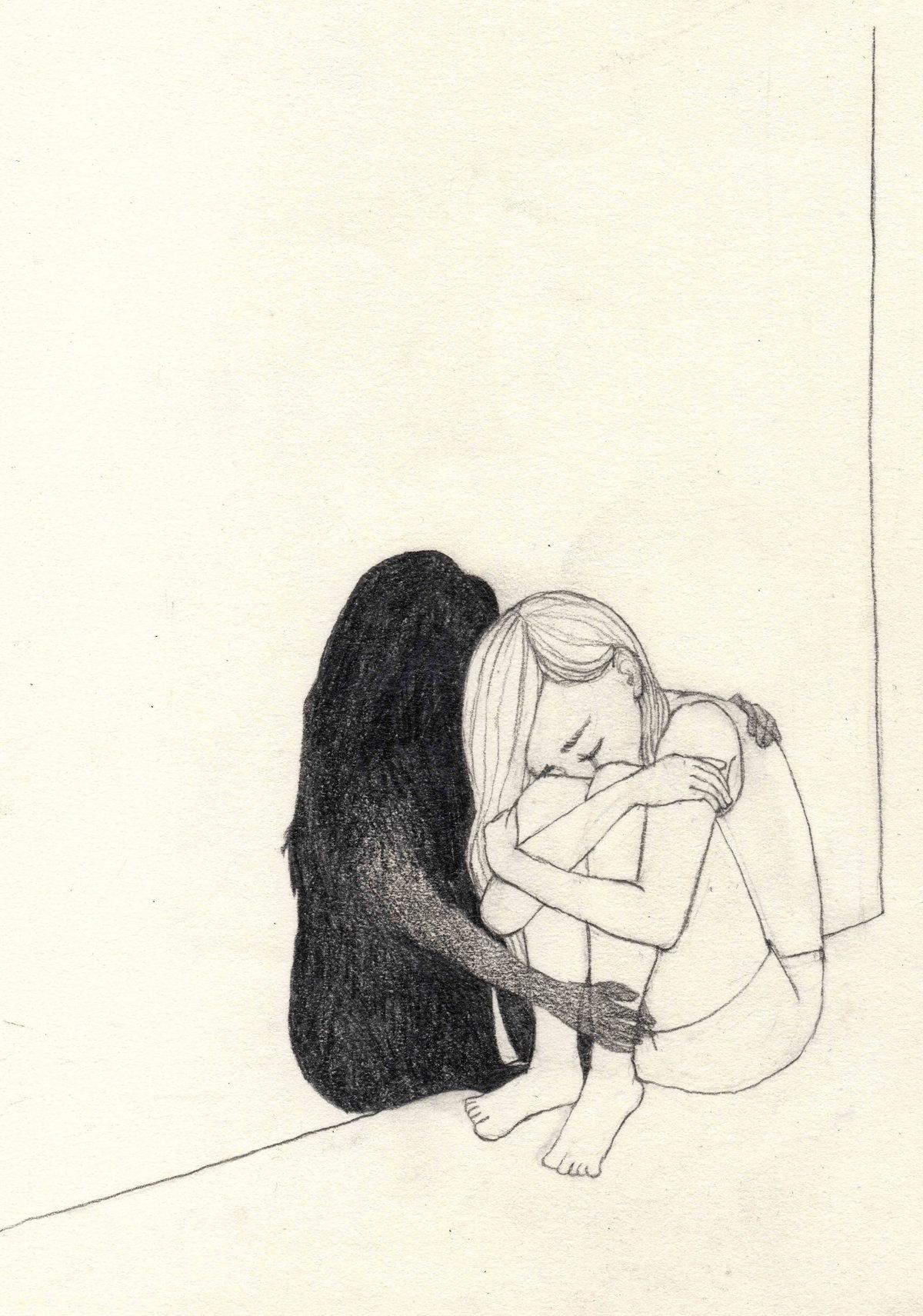 картинки рисунки грусть общем, будем вас