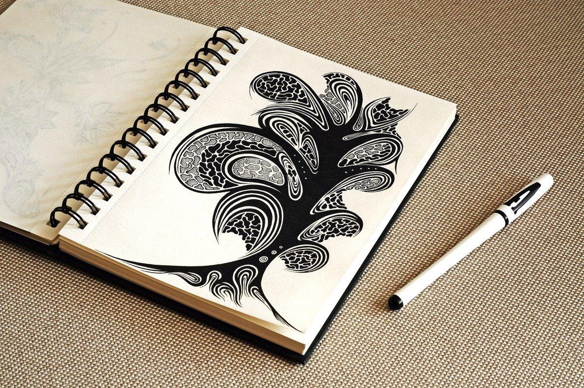 того, картинки идеи для скетчбука черной ручкой легко занимающегося