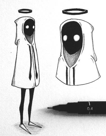 Страшные аниме картинки для срисовки