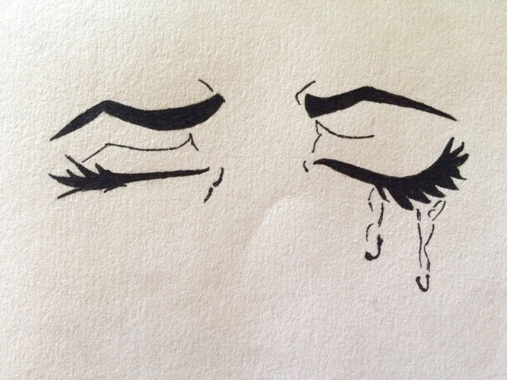Картинки на бумаге грустные