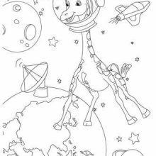 Картинки на день космонавтики для срисовки (26 фото)