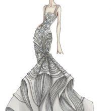 Рисунки одежды для срисовки (31 фото)