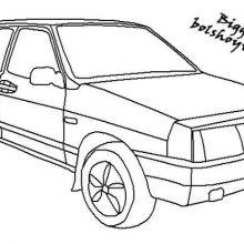 Рисунки для срисовки машины (21 фото)