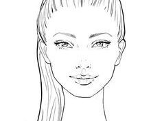 Картинки лица для срисовки карандашом (31 фото)