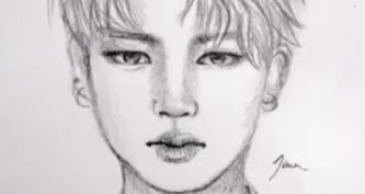 Портреты карандашом для срисовки (33 фото)
